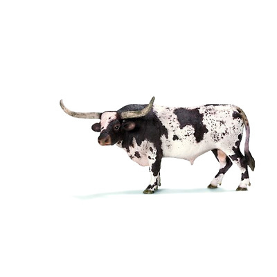 Schleich Texas Longhorn Bull Toy Figure - Free 2 Day Shipping