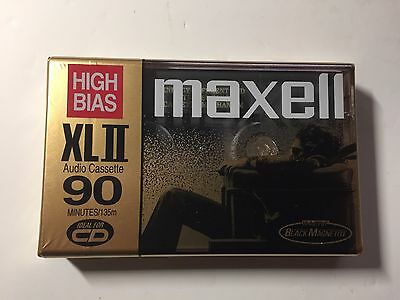 Maxell XLII 90 Blank NOS Brand New Audio Cassette Tape Made in Japan