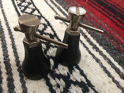 1 Pair of Machinist Mini Bottle Screw Jacks! In Perfect Mint Condition!