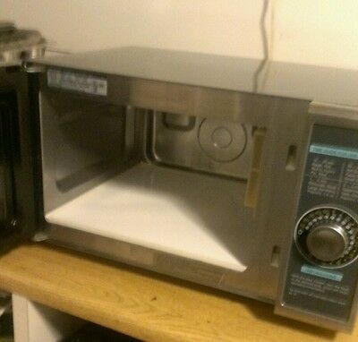 Sharp R-21LCF Commercial Microwave 1000W