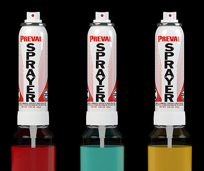 20 Preval spray paint system with Vgrip handles airbrush car model  FAST FREIGHT