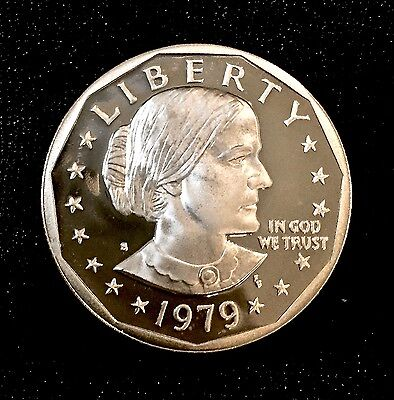 1979-S Susan B Anthony Dollar (Proof) Type 1 DCAM - Fresh from MINT PROOF set!!!