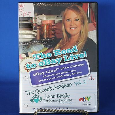 The Road to eBay Live 3 DVD Lynn Dralle Queen of Auctions Queen's Academy Vol 2