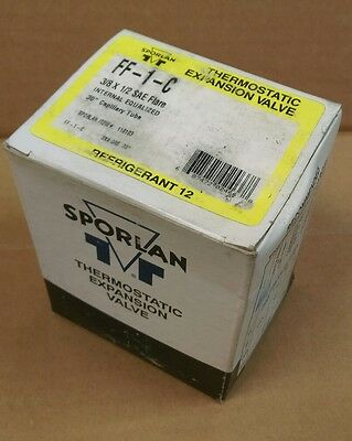 Sporlan Ff-1-C Thermostatic Expansion Valve *new In Box*