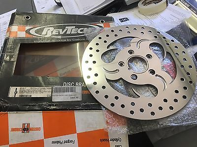 New Front And Rear Disc Rotor Fit Harley Davidson Or Chopper - Save Over $500
