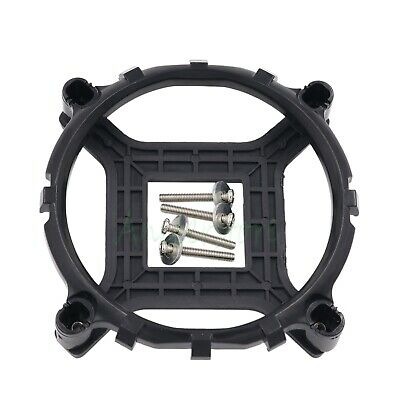 Bracket + Plastic Backplate Intel LGA 775 CPU Radiators Holder Mounting Base