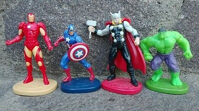 Lotto Personaggi Avengers Serie Marvel Kinder Maxi