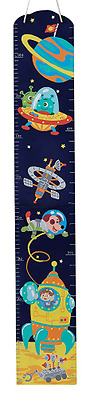 Fantasy Fields Outer Space Childrens Wooden Wall Height Growth Chart