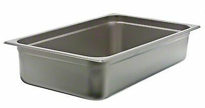"Update International (SPH-1004) 4"" Full-Size Anti-Jam Steam Table Pan"