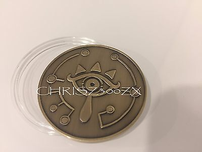 Breath of The Wild Special Master Edition Sheikah Eye Coin Collectible Nintendo