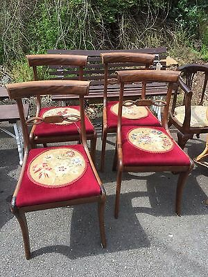 Antique Regency chairs set of 4