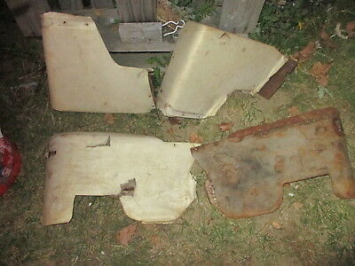 1968 Pontiac Gto Convertible Rear Inner Quarter Trim Panels Armrest