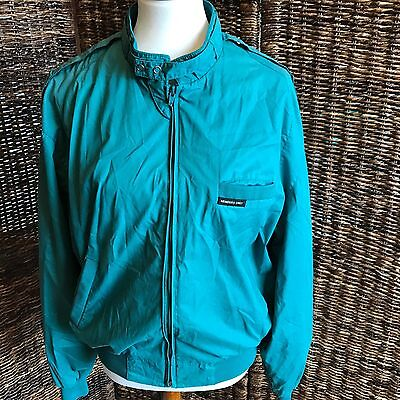 Vintage Green Members Only Jacket Size 44 Men AB