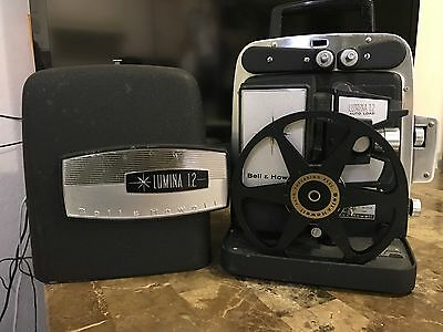 Vintage Bell & Howell Lumina 1.2 Autoload 8mm Movie Projector Model 383A