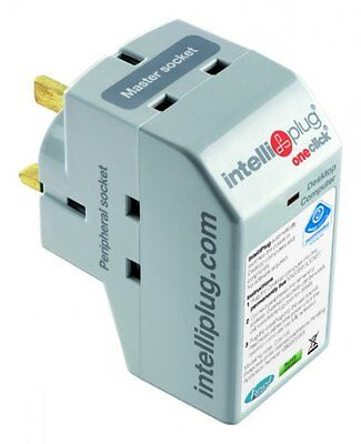 Intelli-Plug Desktop Version Automatic Power Switch 3-Socket DSK105 Energy Saver