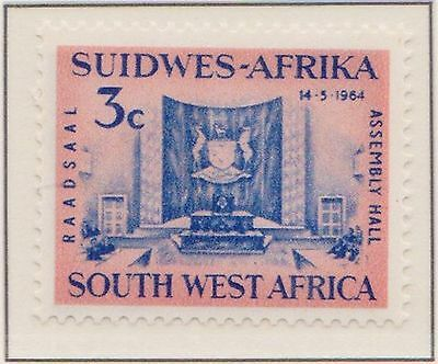 (SWA-6) 1964 SWA Africa 3c legislative assembly MUH