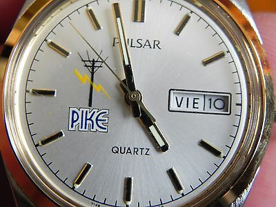 Pulsar Pike Electric Company Service Award Watch Advertising Espanol Spanish NOS