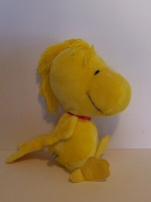 Woodstock Plush Doll Peanuts Snoopy Vintage Determined Production