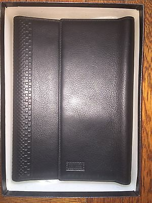 Gianni Versace Black Leather Organizer Cover