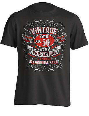 50th Birthday Gift Shirt Vintage No 50 Born In 1969