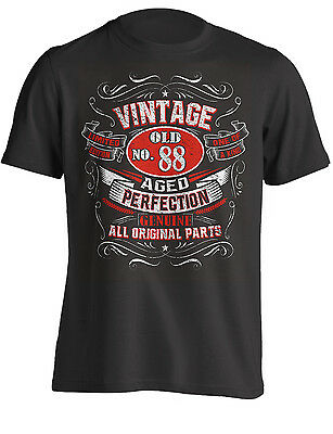 88th Birthday Gift Shirt Vintage No 88 Born in 1931 | T-Shirt