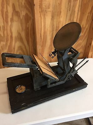 Kelsey 5 x 8 Mercury Model P Letterpress Great Condition