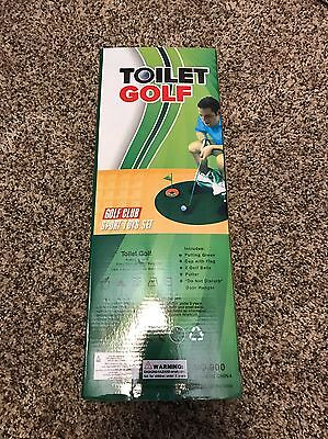 Toilet Golf - Golf While Using The Toilet!