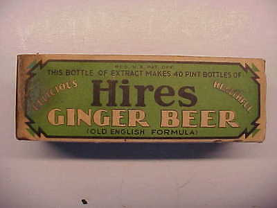 HIRES ROOT BEER GINGER BEER Boxed Household Extract For Home Unused