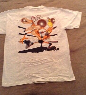 Vintage Looney Tunes Warner Brothers Wile E Coyote T-shirt XL New w/tags