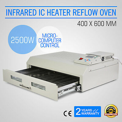 T962C Infrared IC Heater Reflow Oven Micro-Processor Soldering SMD/BAG CE