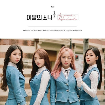 MONTHLY GIRL 1/3 LOONA-[LOVE&LIVE] 1st Mini Album CD+Photo Book K-POP Sealed