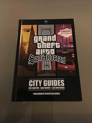 Grand Theft Auto San Andreas City Guides Strategy Book PC GTA Disc