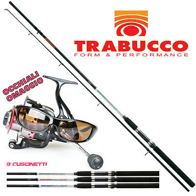 KP2305 Kit Pesca spinning Canna Demon Spin 240 60 gr + Mulinello Sunshine CSP