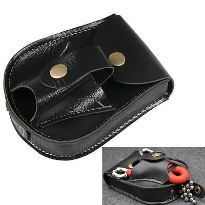 Leather 2 In 1 Hunting Slingshot Ammo Catapult Steel Balls Bearings Bag Pouch