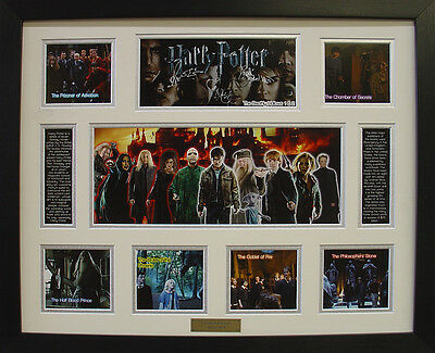 Harry Potter Complete Limited Edition Signed Framed Memorabilia (w)