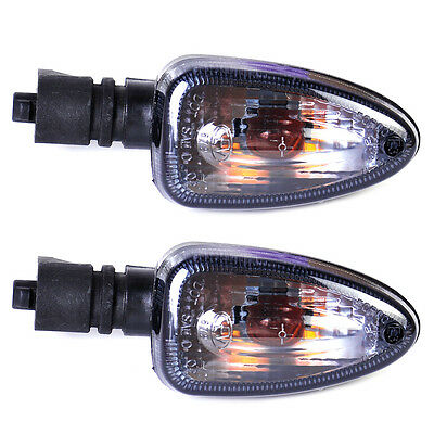 2 Smoke Turn Signal Indicator Light for Motorcycle BMW F800S R1200GS F650GS 2007