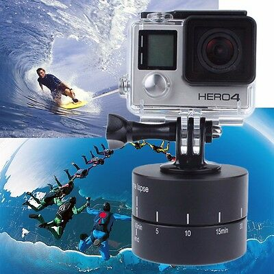 UK 360 Degree Rotating Time Lapse Ball Head Stabilizer Adapter For Gopro Camera