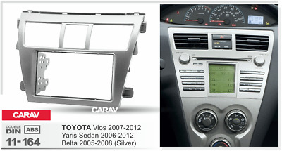 CARAV11-164 Car Face Fascia Facia Panel Frame For TOYOTA Vios Yaris Sedan Belta
