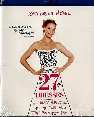 Brand New Blu-Ray//  27 Dresses  // Katherine Heigl,
