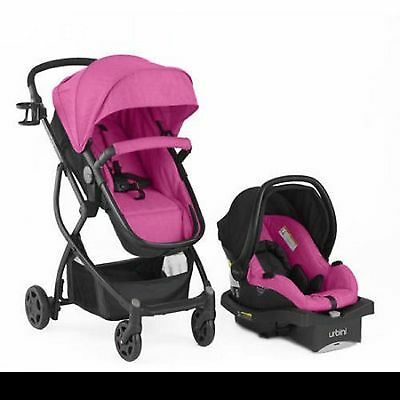 Travel System Baby Stroller Car Seat Infant Carriage Bassinet Carrier Combo 3in1
