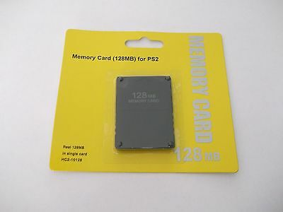 128MB MEMORY CARD PLAYSTATION 2 PS2 128 MB !! NEW! Fast Shipping from Canada!!