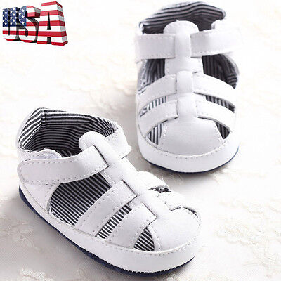 Baby Newborn Kids Girl Boy Soft Sole Crib Sandals Toddler Toddler Sneakers Shoes