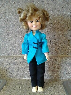 "Shirley Temple Doll 12""  Vintage 1982 Ideal Toys EUC!"