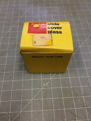 Kodak Slide Cover Glass Sheets 2 X 2 Inches 50 X 50 Mm  New In Box