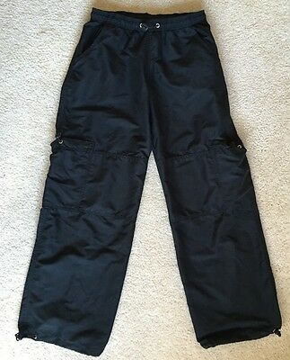 Adult Size S Black Dance Pants From Beyond The Barre