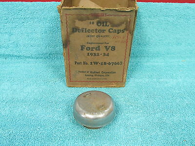 1932-34 Ford V-8  Oil Deflector Cap  Nos  317