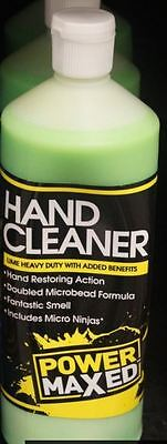 Power Maxed Lime Heavy Duty Hand Cleaner - 1 Litre - Garage / Industrial use