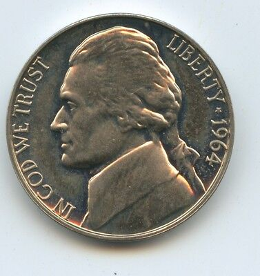 1964 P Proof Jefferson Nickel