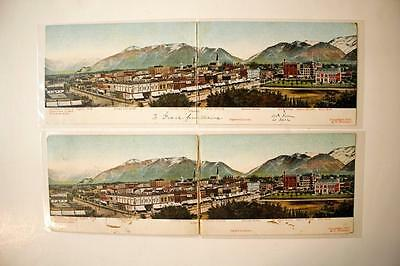Ogden, Utah ~ panoramic folding postcards (2)