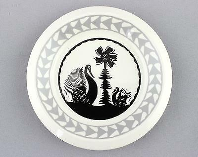 A Scottie Wilson ashtray for Royal Worcester English 1960's design